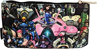 Loungefly Overwatch Character All Over Print Coin Bag