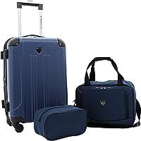 Travelers Club Luggage Chicago Plus 3-Piece Luggage Set