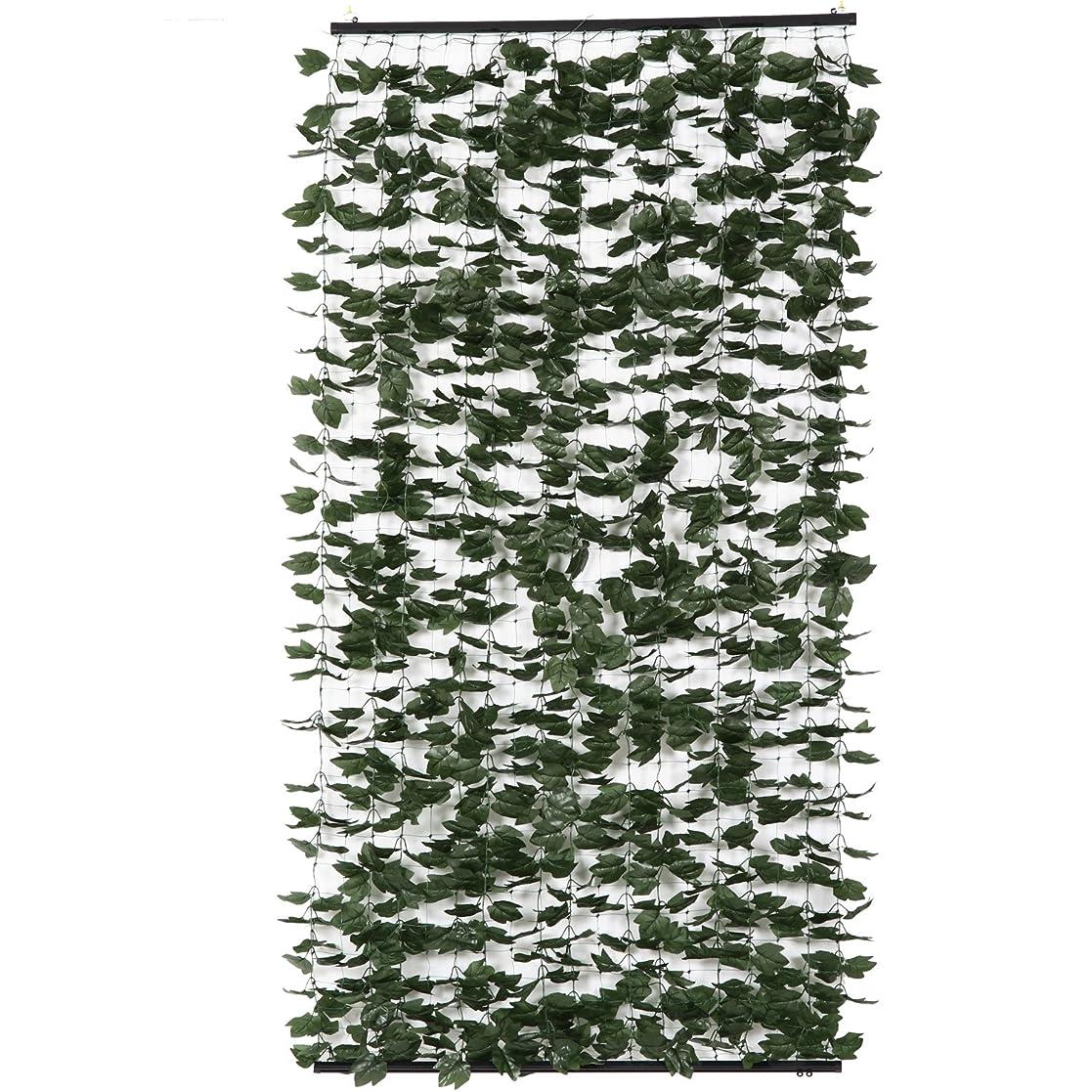ボア提唱する優れました不二貿易 グリーンシェード 1m×2m グリーン 95803
