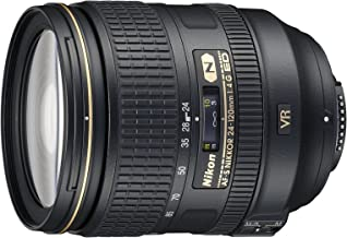 Nikon 24-120mm f/4G ED VR AF-S NIKKOR Lens for Nikon Digital SLR (Renewed)