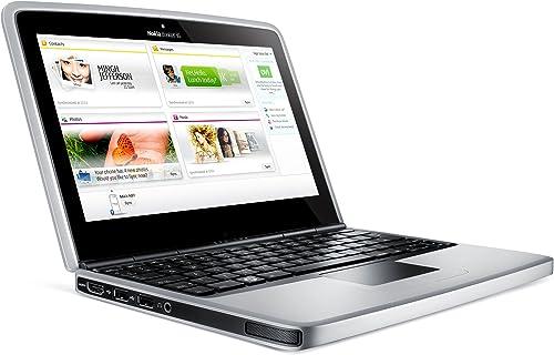 Nokia Booklet 3G 25 7 cm 10 1 Zoll Netbook Intel Atom Z530 1 6GHz 1GB RAM 120GB HDD Intel GMA 500 Win 7 Starter O2 branded blau