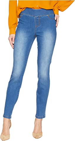 Pull-On Denim Jegging