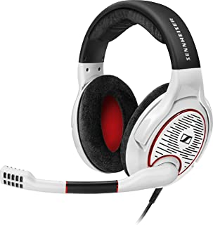 Sennheiser GAME ONE Sennheiser G4ME ONE PC Gaming Open Acoustic Over-Ear Headset - White - White and red (Pack of1)