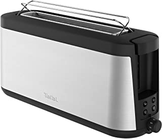 Tefal Element TL4308 Grille-pain à fente longue   7 niveaux de brunissage   1000 W   Grille réchauffe-viennoiseries intégr...