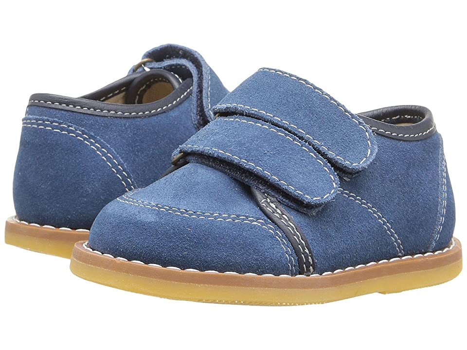 Elephantito Low Top Sneaker (Toddler) (Dusty Blue) Boy