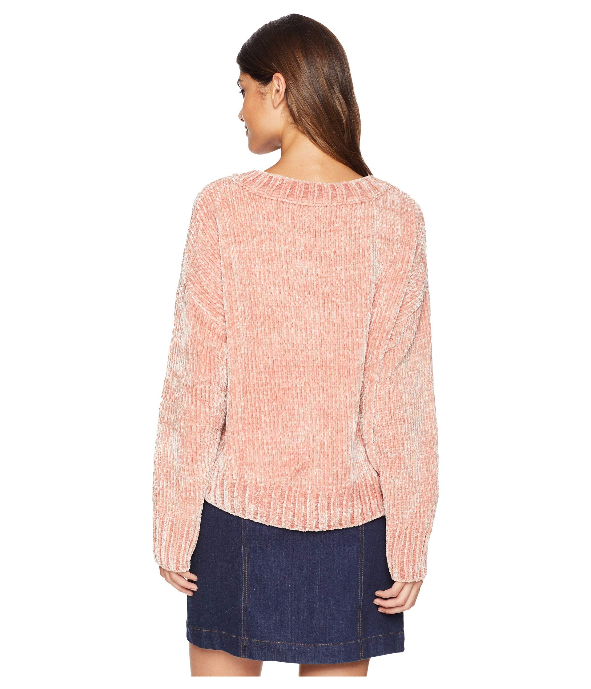 Scotch Sweater Sanctuary Chenille Pullover Pink fZWnfFz7v