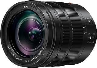 Panasonic H-ES12060E Dustproof/Splashproof/Freezeproof Leica DG Vario - Elmarit Wide Zoom Lens, Black (H-ES12060E)