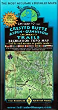 Crested Butte | Aspen | Gunnison Trails Recreation Topo Map