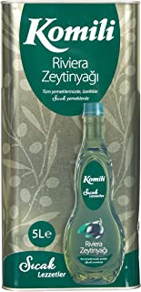 Komili Riviera Zeytinyağı 5 Lt Teneke