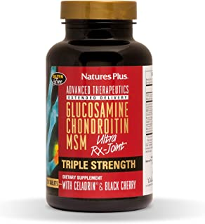 NaturesPlus Advanced Therapeutics Triple Strength Ultra Rx-Joint, Extended Delivery - 120 Tablets - Glucosamine/Chondroiti...
