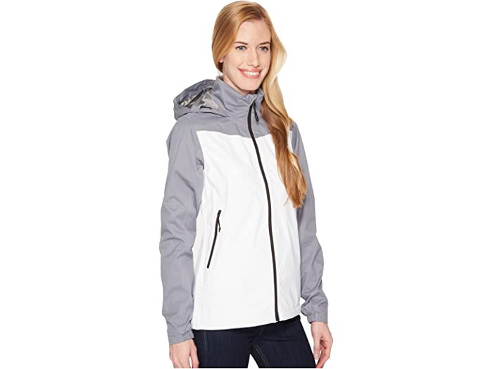 The North Face Resolve Plus Jacket Tnf White/mid Grey Dobby Cos & Outerwear