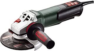 """Metabo- 6"""" Angle Grinder - 9, 600 Rpm - 13.5 Amp W/Electronics, Non-Lock Paddle (600488420 15-150 Quick), Professional An..."""