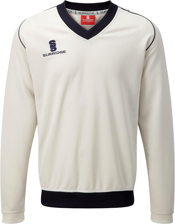 Surridge Big Boys Junior Fleece Lined Sweater Sports/Cricket