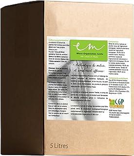 CGP HORSE FEED Microbiote - Microorganismes efficaces (EM) en Bag in Box de 5 litres. complément Alimentaire pour Chevaux