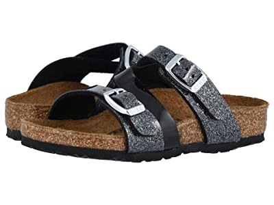 Birkenstock Kids Salina (Toddler/Little Kid/Big Kid) (Cosmic Sparkle Black Birko-Flortm) Girls Shoes