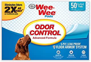 Wee Wee Puppy Pee Pads for Dogs | 50 Count | Puppy Training Pads for Dogs | Odor Control Pads 50 Ct