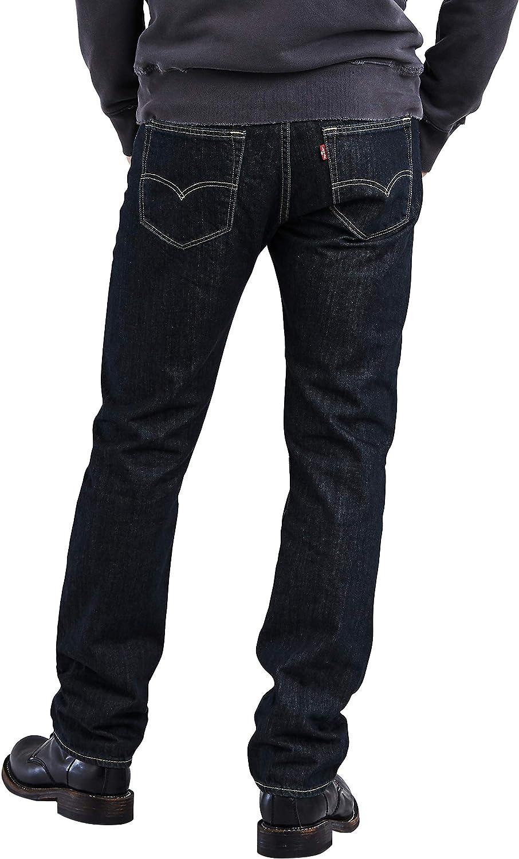 Levi's 501 Original Straight Fit Jeans Homme Blu (Blau 0444)