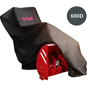 ToughCover Premium Two-Stage Snow Thrower Cover. Heavy Duty 600D Marine Grade Fabric. Universal Fit. Weather, UV & Mold Protection.
