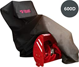 ToughCover Premium Two-Stage Snow Thrower Cover. Heavy Duty 600D Marine Grade Fabric...