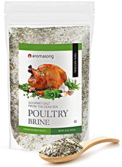 HERBS DE PROVENCE Dry Turkey Brine Bulk Bag of 2 .43 LBS. 100% Natural, Gourmet Poultry Seasoning Made with Sea Salt,...