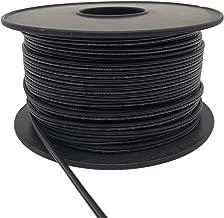 Aniai Spool 18/2 SPT-1 Bulk Lamp Cord, 300-Volt 18-Gauge (250ft, black)