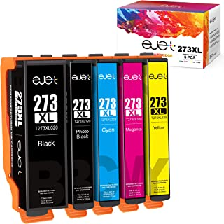ejet Remanufactured Ink Cartridge Replacement for Epson 273XL 273 XL to use with XP-800 XP-810 XP-820 XP-600 XP-610 XP-620...