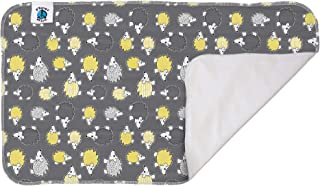 Planet Wise Waterproof Changing Pad, Hedgehog, Made in The USA