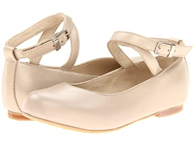 Elephantito French Ballet Flat (Toddler/Little Kid/Big Kid) (Champagne) Girl