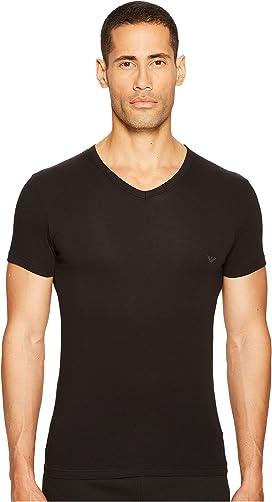 de0b728da76a Emporio Armani. 3-Pack Crew Neck T-Shirt.  49.00. Stretch Cotton V-Neck Tee
