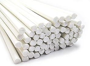 POM barre naturel blanc /Ø 6 mm longueur 1000 mm Joncs pleins POM