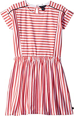 0da1a067 Paradise Pink. 20. Tommy Hilfiger Kids. Stripe Pieced Dress (Big Kids)