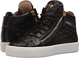 Giuseppe Zanotti - May London Color Block Mid Top Sneaker