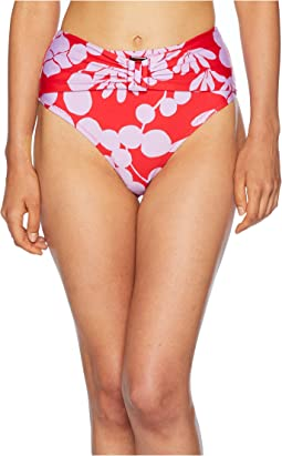 Bali Blossoms High-Waist Pant Bottom