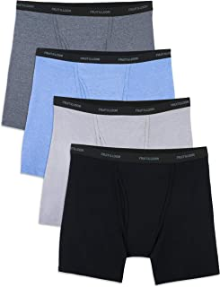 Fruit of the Loom Mens 4BBCBSX 4pk Boxer Brief Boxer Briefs - Multi