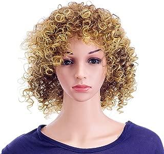 blonde curly hair wig