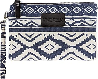 Kindfolk 6x9 Patterned Canvas Accessory Pouch (Mesa)