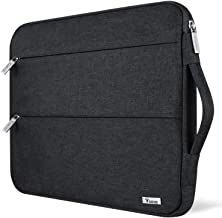 Aoligei Ac-Dc Polyester Waterproof Laptop Case Compatible with Briefcase Tablet Case Black 13 Inch