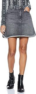 Calvin Klein Women's J20J208808-Grey Calvin Klein A Line Skirt For Women - Grey