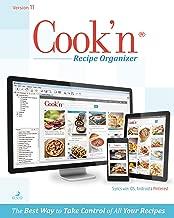 Cook'n Recipe Organizer Version 11 PC [Download]