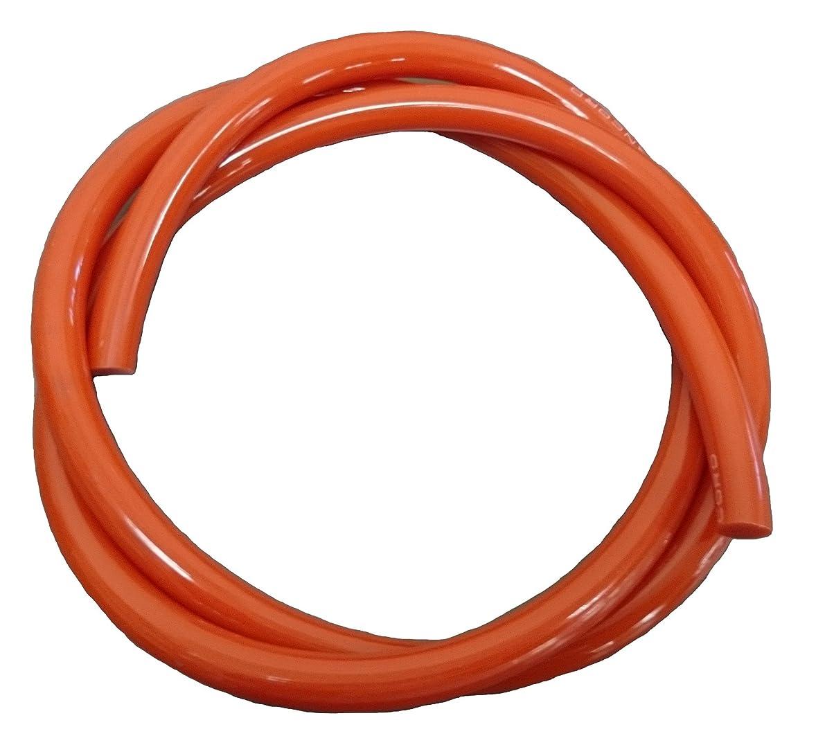 ながら征服記念日バンドー化学 バンコード 83mm φ12#480オレンジ オープンエンド NO480-12-C83000