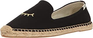 Soludos Womens Wink Embroidered Smoking Slipper