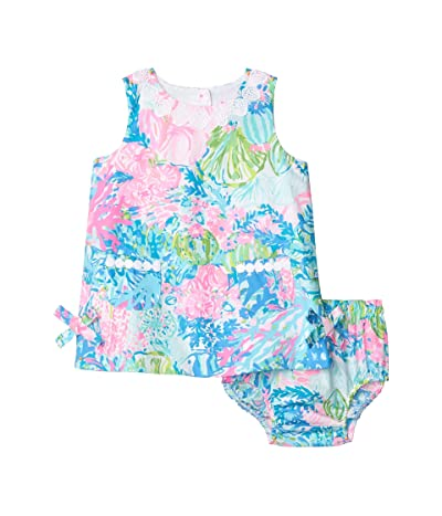 Lilly Pulitzer Kids Baby Lilly Shift Dress (Infant) (Multi Fished My Wish) Girl