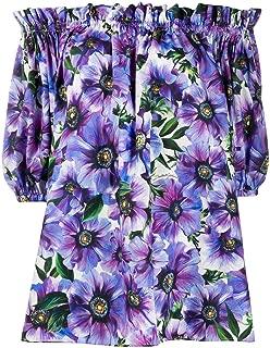 Dolce e Gabbana Luxury Fashion Womens F71J7THS5GDHA1A0 Purple Blouse |