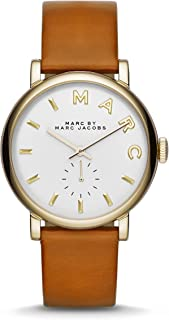 Marc by Marc Jacobs Men's MBM1316 Brown Leather Strap Watch