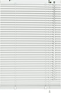 comprar comparacion Gardinia Jalousie 6920 - Persiana (Aluminio, 25 mm, 80 x 240 cm), Color Blanco