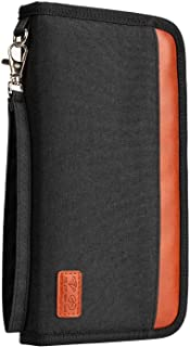 Orange Housse /à Rabat en Cuir Bear Village/® Coque pour Sony Xperia 10 Anti Rayures Portefeuille /Étui avec Sangle /à Main