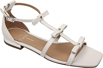 Linea Paolo - Lanica - Delicate Bow Adorned Strappy Flat Leather Sandal