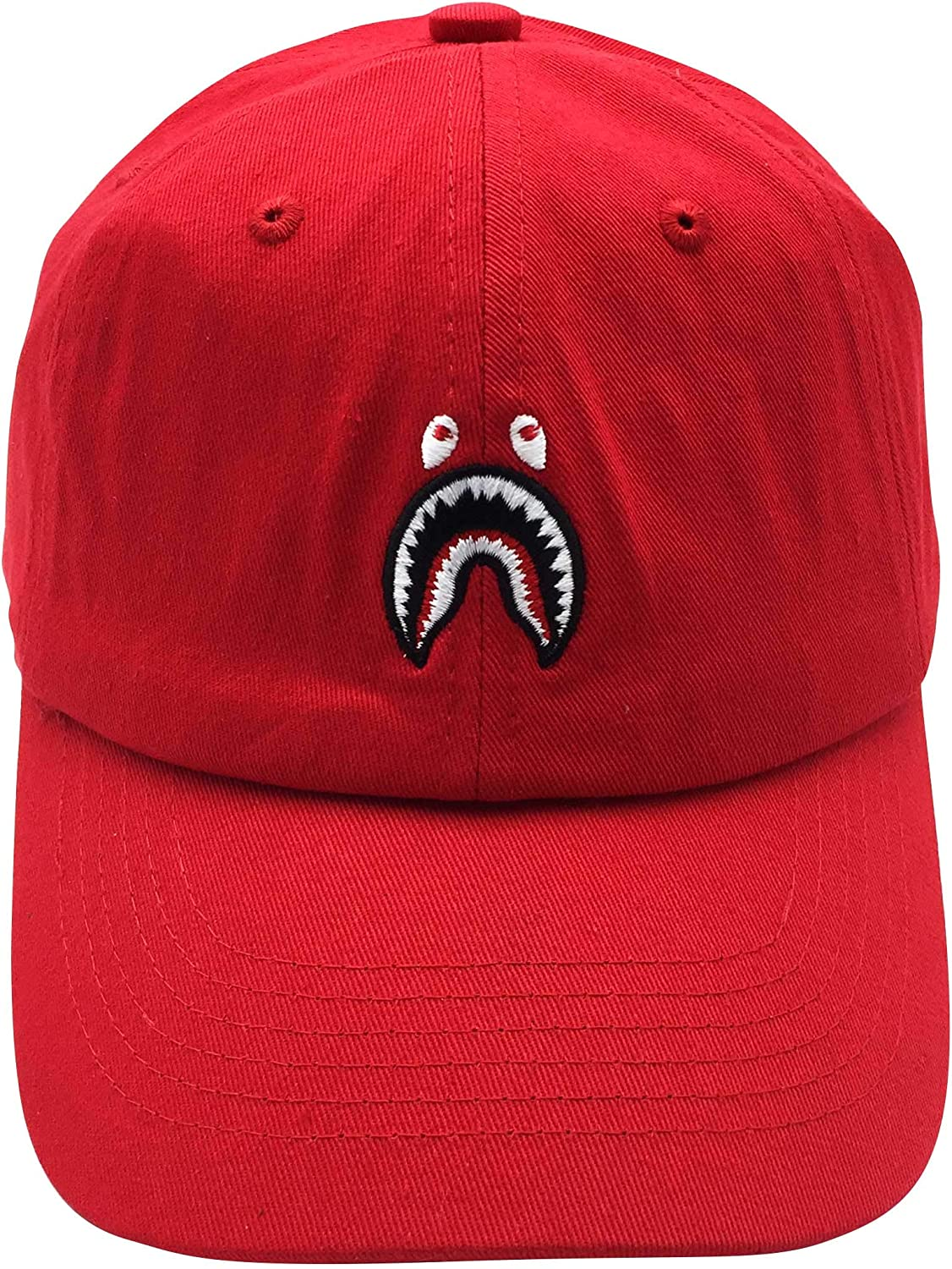Classic Special price for a limited time Popular products Embroidery Baseball Caps Cotton Shark Hat Adjustable Dad