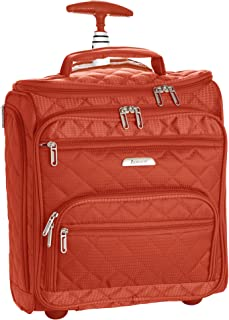Aerolite 16-inch Carry On Under Seat - Wheeled Trolley Luggage Rolling Tote Bag