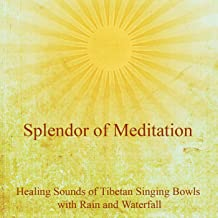 The Healing Sounds of Tibetan Singing Bowls With Rain and Waterfall - The Ultimate Meditation Music